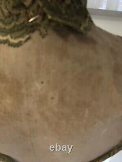 Stockman Paris Ancienne Mannequin Femme Tailor Sur Support En Hêtre Réglable Numéroté