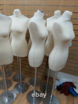 Tailleurs Mannequin Femmes Couturières Bust Retail Display Fashion Mannequin