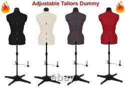 Tailors Dummy Adaptable Torso Dressmaker Femme Mannequin Tailles De Mode 6 À 22