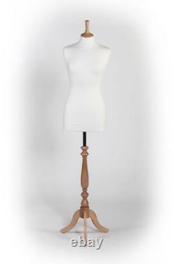 Tailors Dummy Bust Femme Royaume-uni 10/12 Dressmakers Étudiants À Coudre Mannequin Affichage