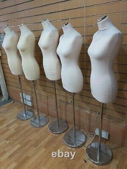 Tailors Dummy Femme Dressmakers Bust Retail Display Mode Mannequin