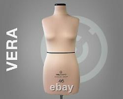 Vera // Mannequin De Forme De Robe Pour Coudre La Forme Entièrement Pinnable Taille Tailleur Mannequin